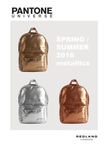 2015 presentation SMALL BACKPACK METALLICS new