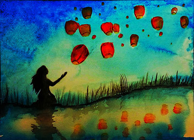 Reciprocation---watercolor-by-Aubrey-Sanchez
