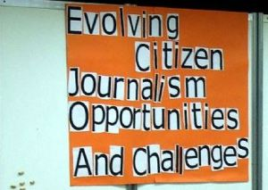 Citizen journalism does not have to be pretty