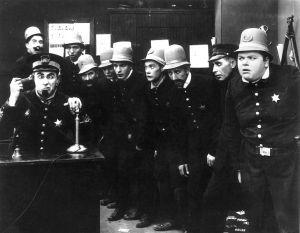 Keystone Cops entertaining us 100 years ago