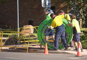 NBN's fibre optic cable will no longer connect to each home.
