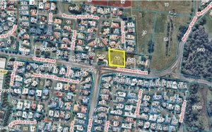 Locality map for proposed petrol station in Redland Bay
