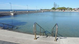 Wynnum wading pool Photo: Kerry Raymond