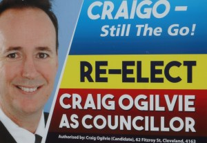 Craig Ogilvie - standing for re-election