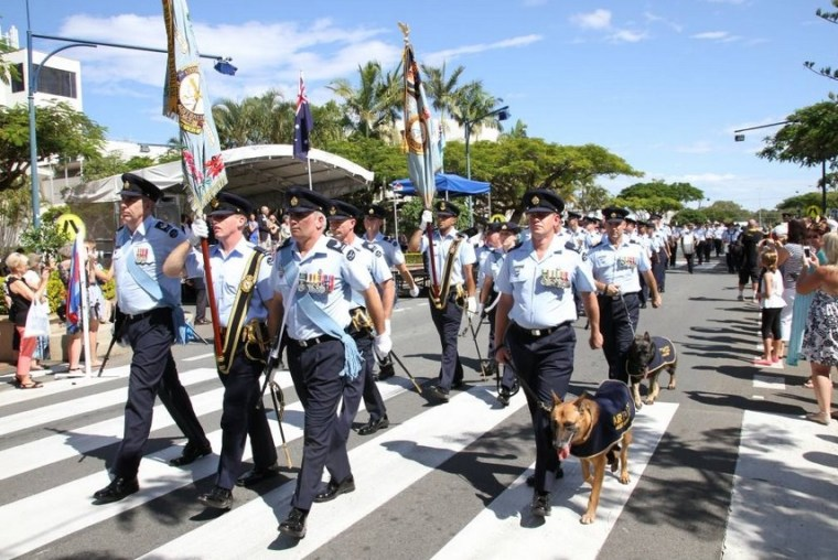 In 2014 Redland City granted freedom of entry to 95 Air Wing Photo: Redland City Bulletin