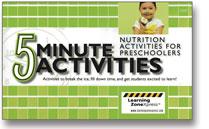5 minute preschoolers