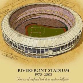 Homage to Riverfront Stadium
