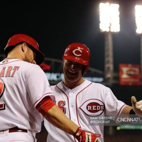 Good game all around for the Redlegs