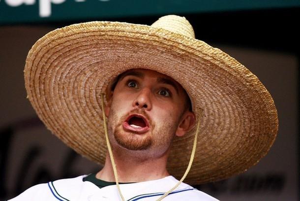 Jonny Gomes sombrero