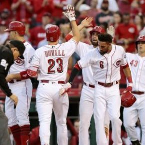 First place Reds blast the O's