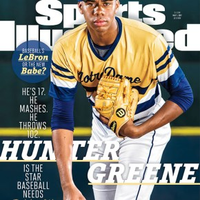 Reds sign first-rounder Hunter Greene with seconds to spare