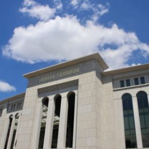 A summer afternoon with the Reds at Yankee Stadium