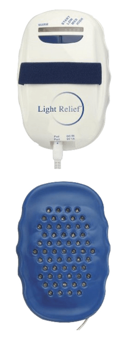 light relief infrared pain relief device review red light therapy rh redlighttherapyguide com User Manual User Manual PDF