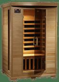 2.1. 2-Person Hemlock Deluxe_low emf sauna
