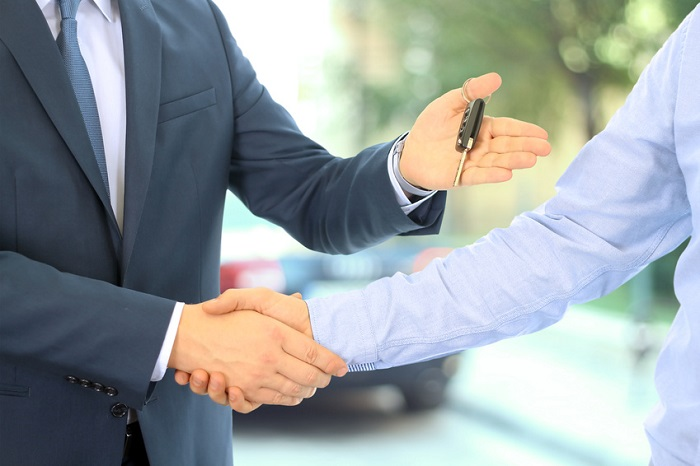 business deal handshake