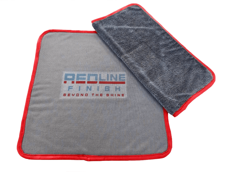 Redline Finish - The Perfect Small Drying Towel