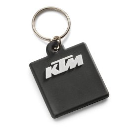 KTM BLACK LOGO KEYRING