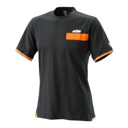 KTM PURE T-SHIRT BLACK