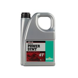 MOTOREX POWER SYNT 4T 10/60 OIL 4 LITRE