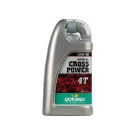 MOTOREX CROSSPOWER SYNTH 4T 10/60 OIL 1 LITRE