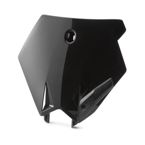 KTM NUMBER PLATE BLACK 85 SX 2003-2012