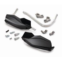 KTM ALUMINIUM HANDGUARDS BLACK SX/EXC