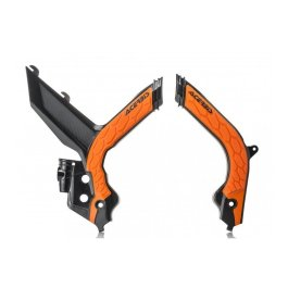 ACERBIS FRAME GUARDS X-GRIP ORANGE SX-F 19-20
