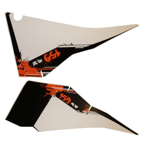 KTM REAR GRAPHIC DECALS 150 SX 2008