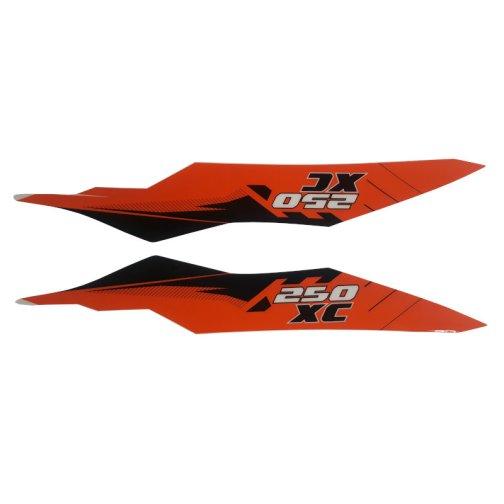 KTM REAR GRAPHIC DECALS 250 XC 2012