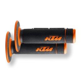 KTM GRIP SET DUAL COMPOUND CLOSED END