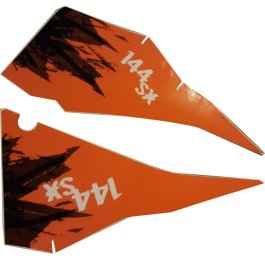 KTM REAR GRAPHIC DECALS 144 SX 2007
