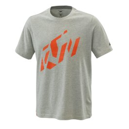 KTM RADICAL SLICED T-SHIRT GREY MELANGE