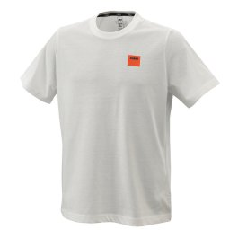 KTM PURE RACING T-SHIRT WHITE