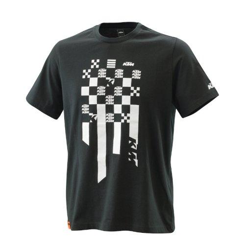 KTM RADICAL SQUARE T-SHIRT BLACK