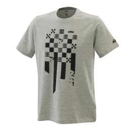 KTM RADICAL SQUARE T-SHIRT GREY MELANGE