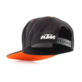 KTM TEAM SNAPBACK CAP BLACK