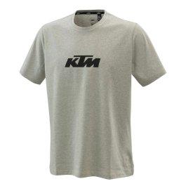 KTM PURE LOGO T-SHIRT GREY MELANGE