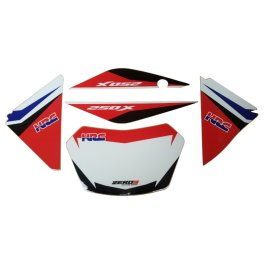 HONDA CRF250X HRC PLASTIC AND GRAPHICS KIT 2018