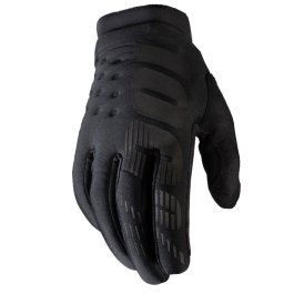 100% BRISKER YOUTH COLD WEATHER GLOVE BLACK