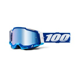 RACECRAFT 2 GOGGLE BLUE – MIRROR BLUE LENS