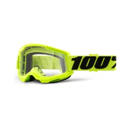 STRATA 2 GOGGLE YELLOW – CLEAR LENS