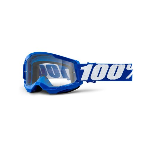 STRATA 2 YOUTH GOGGLE BLUE - CLEAR LENS