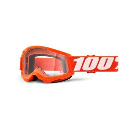 STRATA 2 YOUTH GOGGLE ORANGE – CLEAR LENS