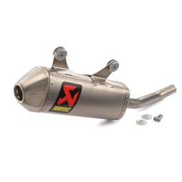 KTM AKRAPOVIC SLIP ON EXHAUST 125/150 SX/EXC 2019 ON