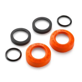 KTM FACTORY WHEEL BEARING PROTECTION CAP SET FRONT EXC 2016 ON