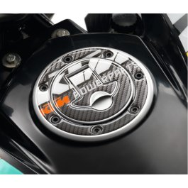 KTM FUEL CAP PROTECTION STICKER RC125/390 2014 ON