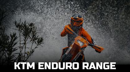 KTM ENDURO RANGE