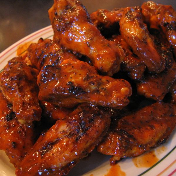 B.B.Q. CHICKEN WINGS