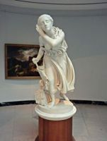 Nydia, the blind girl of Pompeii by Randolph Rogers (1861)