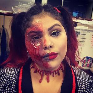 Halloween Melting Doll SFX Look